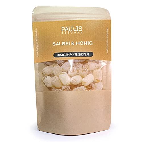 Paulis Kitchen - Salbei & Honig - Bonbons - handgemachte Zuckerl (135g)