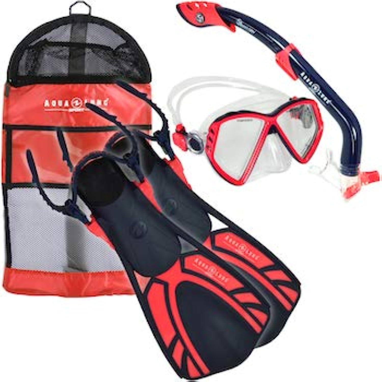 Aqua Lung Sport Jr. 4Piece Snorkeling Set
