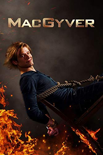 MacGyver Season 4 35cm x 52cm 14inch x 21inch TV Show Waterproof Poster *Anti-Fading* 1WP/188465068