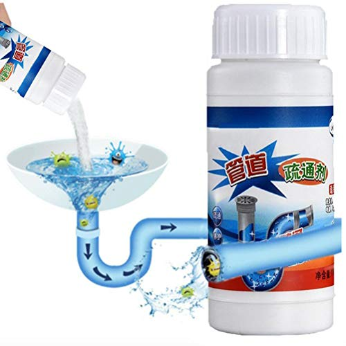 Hihey Toilet Cleaner Powerful Sink & Drain Cleaner, Agent Sewer Toilet Dredge Drain Cleaner, Bathroom Hair Filter Strainer voor keuken Sewer Toilet Closestool Clogging