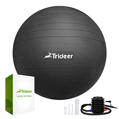Trideer Exercise Ball Supports 2200lbs