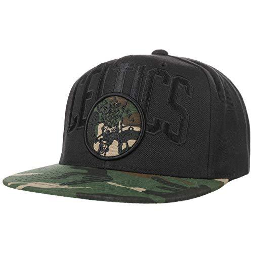 Mitchell & Ness Gorra Snapback Blind Boston Celtics Negro-Camuflaje - Ajustable