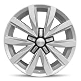 Road Ready Car Wheel for 2010-2019 Volkswagen Jetta 18 inch 5 Lug Aluminum Rim Fits R18 Tire