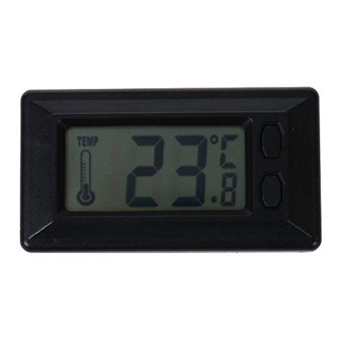Nirmon Termometro de Temperatura Interior de Coche con Pantalla LCD Digital