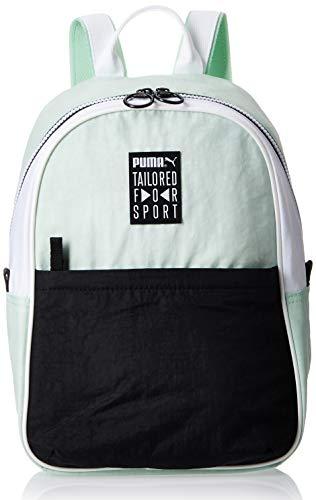 Puma Prime Street Backpack Mochila, Mujeres, Mist Green Black White (Verde), Talla Única