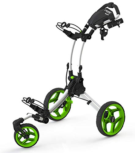 Clicgear RV1S Golf Trolley, weiß,