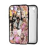 Funny Design Nicki Phone Case for iPhone 7 8 Plus X XR XS 11 11Pro 11ProMax 12 Mini Pro Max Promax Case Minaj Non-Slip TPU Protective Case
