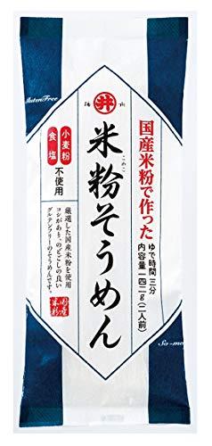 東亜食品工業 グルテンフリー米粉そうめん 142g ×12袋