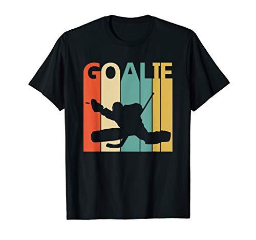 Retro 80er Jahre Eishockey Torwart T-Shirt