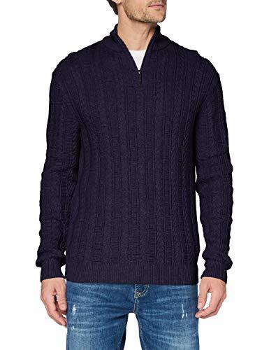 ESPRIT Herren 110EE2I315 Pullover, 400/NAVY, M