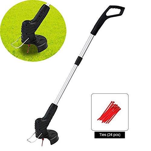 Handheld Elektrische Grastrimmer, Telescopische Snoerloze Grasmaaier Grass Trimmers And Edger Draagbaar Batterij-Aangedreven Doe-Het-Zelf-Gazonhulpmiddel