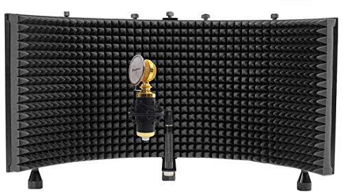 Rockville RCM02 Studio Recording Condenser Microphone+Shock Mount+Vocal Shield