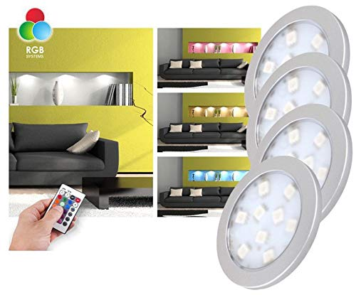LED RGB Unterbauleuchten Komplett-Set...