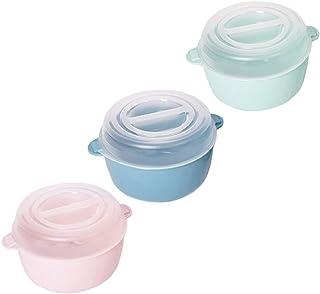 Générique Codil - Récipient alimentaire rond 1,2 L Cocotte Colors, Pack de 3, Passe au micro-ondes, au congélateur et au l...