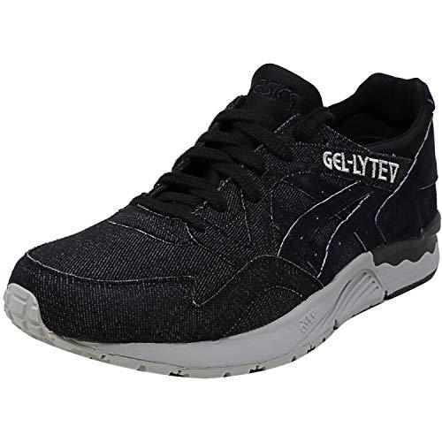 ASICS Gel-Lyte V Athletic - Zapatillas para hombre, (negro, gris (Mid Grey/Black)), 46.5 EU