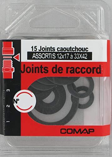 15 Joints Caoutchouc, Eau Chaude Assortis=12X17(4)/15X21(4)/20X27(4)/26X34(2)/33X42(1)