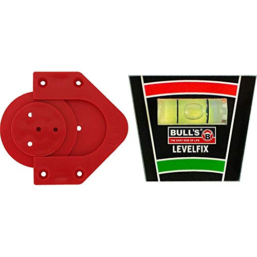 Bull's Profix Bristle Board Wandhalter & Levelfix