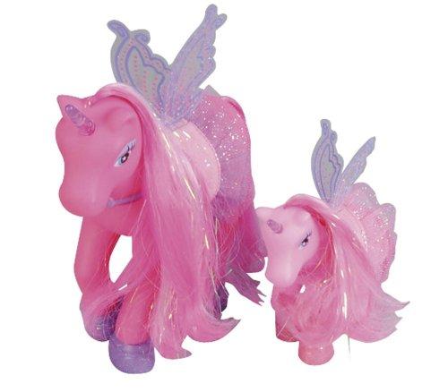 Simba 105945234 - My Sweet Pony, Einhorn, zwei Ponies, mit Flügel, 3 - sort.