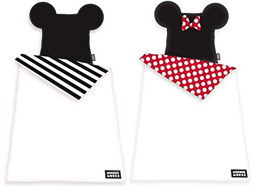 rainbowFUN.de Disney Minnie & Mickey Mouse - Partner Bettwäsche von Herding, 2 x 135x200 cm
