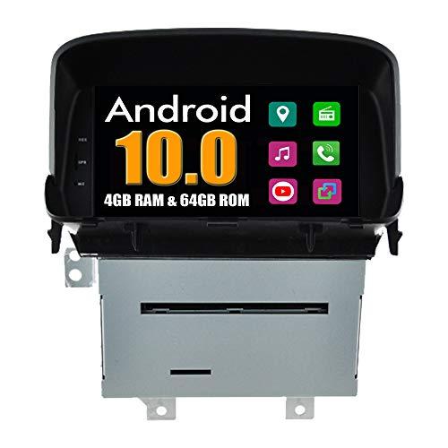 Roverone Android System 8 Zoll Autoradio GPS für Opel Mokka mit Navigation Radio Stereo DVD Bluetooth SD USB Touch Bildschirm