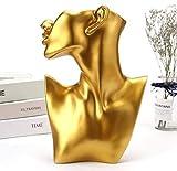 Incienso reflujo La artesanía de alta gama pendientes retrato del collar de la joyería pantalla...