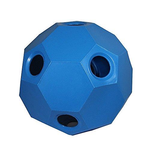 Hay Play Heuball Futterball Heufütterer Pferde Pferdespielzeug blau