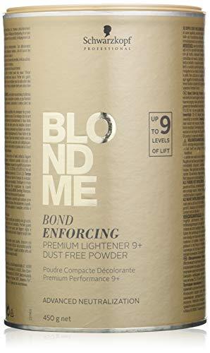 Schwarzkopf Professional BlondMe Premium Aufheller 9+, 1er Pack (1 x 450 g)