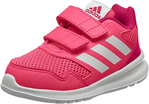 adidas Unisex-Kinder Altarun Cloudfoam Fitnessschuhe, Pink (Rosrea/Ftwbla/Bayint 000), 36 2/3 EU
