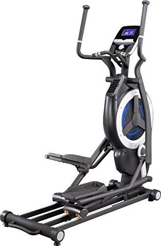 MAXXUS® Ellipsentrainer 10.1 Pro - Magnet- und Luftantrieb. Crosstrainer mit elliptischem Bewegungsablauf. Gelenkschonende, flache und elliptische Bewegung. 150kg Benutzergewicht