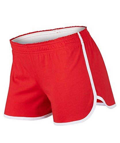Soffe Junior's Dolphin Shortie, Red, Small