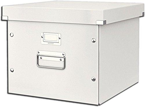 Leitz Click & Store Ablage- und Transportbox für Hängeregistratur, A4, weiß, 60460001