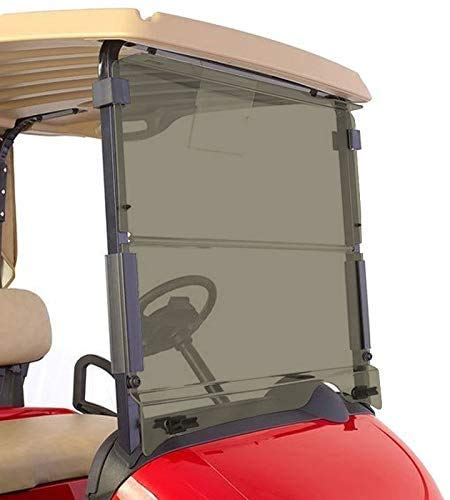 for 2008-UP EZGO RXV Tinted Windshield Front Folding Style Golf Cart Part