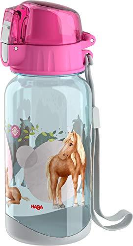 HABA 305705 - Trinkflasche Pferde, Geschirr ab 2 Jahren