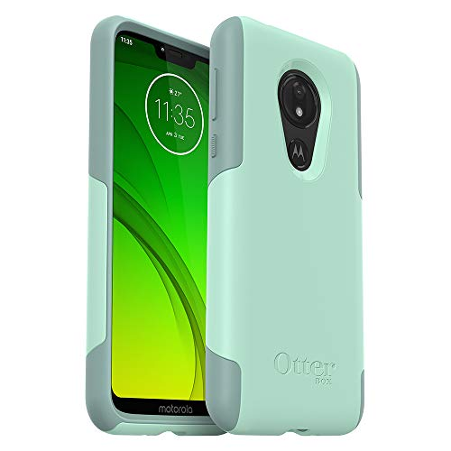 OtterBox Commuter LITE Series Case for Moto G7 Power - Retail Packaging - Ocean Way (Aqua SAIL/Aquifer)