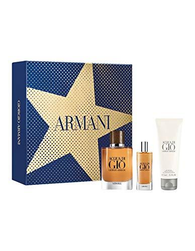 Armani Acqua di Gio Homme Absolue 75ml Eau de Parfum + 15ml Eau de Parfum + 75ml Duschgel