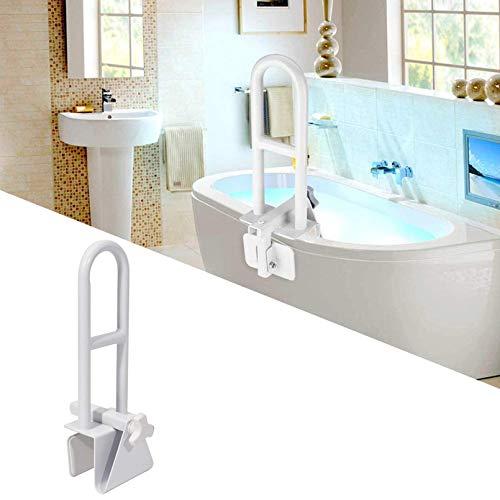ZRN agarraderas baño Barra de Agarre para baño Barra de Agarre para bañera Blanca - Barra de Seguridad para bañera de 50 cm / 19,5 Pulgadas