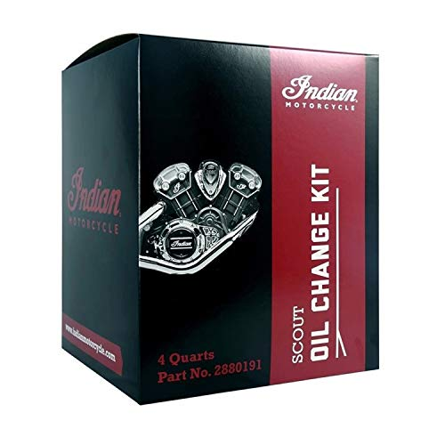 Genuine Indian Motorcycles - Scout Oil Change Kit 15W-60 4 Qt - 2880191