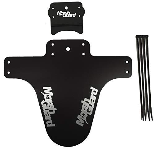 MARSH GUARD Plus Mud Schutzblech Fender The Stash'' Zusatz für Schutzblech (Schwarz/Logo Silber)