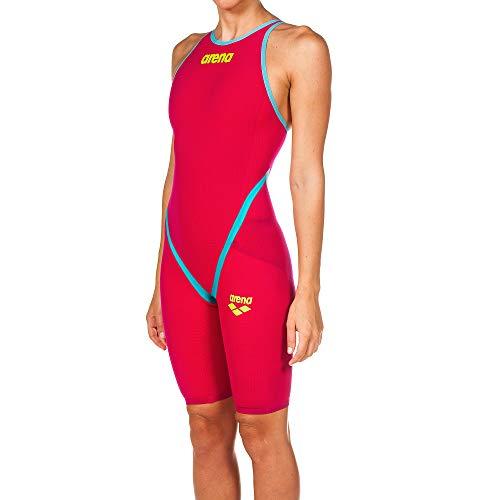 ARENA Badeanzug 1P Pwsk Carbon Flex Badeanzug Damen Bright Red, 40