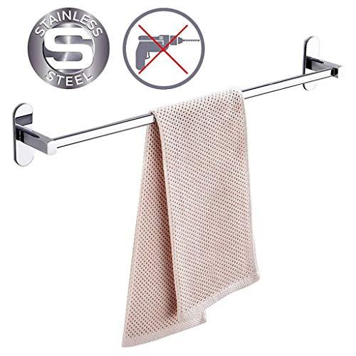 Id/éal comme porte-serviettes de salle de bain ou porte-torchons de cuisine. peut contenir 3 serviettes Finition chrom/ée /él/égante Porte-serviettes mural avec rails pivotants de 27,5 cm