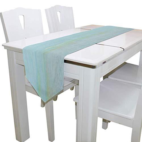 N/A eettafel loper of dressoir sjaal, zeester op het strand dek tafelkleed loper koffie mat voor bruiloft partij banket decoratie 13 x 90 inch