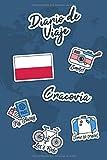Diario de Viaje Cracovia: Diario de Viaje | 106 páginas, 15.24 cm x 22.86 cm | Para acompañarle durante su estancia.