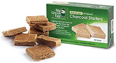 Big Green Egg All Natural Charcoal Starters - 24 cubes