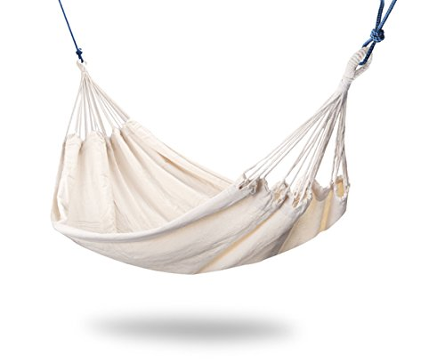 Primrose Tortola Ivory Outdoor Garden Double Hammock - Large Two Person Hammock