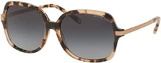 Michael Kors MK2024 ADRIANNA II Square Sunglasses For Women +FREE Complimentary Eyewear Care Kit