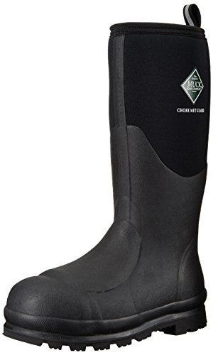 Muck Boot Men's Chore Met Guard Extreme Snow Boot, Black, 12 M US
