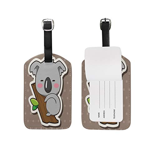 Luggage Tag Love Heart Happy Valentine's Day Travel Tag Name Card Holder for Baggage Suitcase Bag 1 Piece