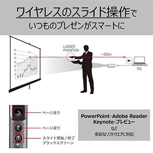 『【Amazon.co.jp 限定】Canon レッドレーザーポインター PR1100-R PowerPoint/Keynote/PDF対応』の4枚目の画像