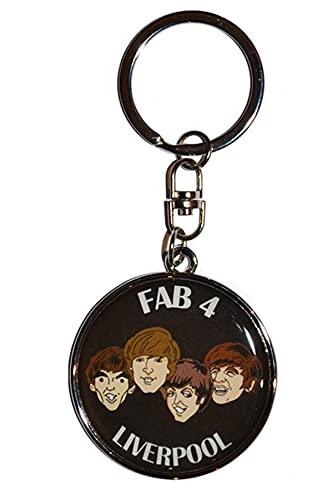 Llavero Beatles Fab 4