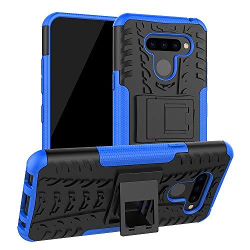 Labanema LG Q60 /LG K50 Hülle, Abdeckung Cover schutzhülle Tough Strong Rugged Shock Proof Heavy Duty Hülle Für LG Q60 /LG K50 - Blau